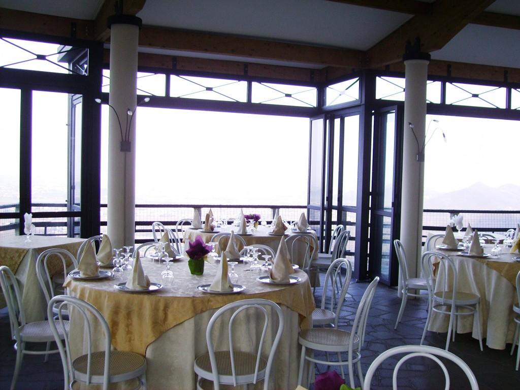 sala in terrazza
